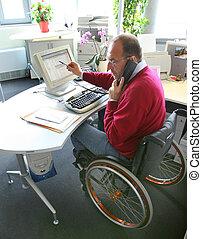 輪椅, 人