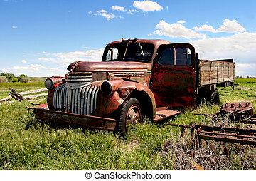 農場, 卡車, 第一流