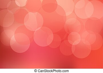 迷離, bokeh, 光, 摘要, 紅色, 鮮艷, defocused