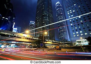 透過, 市區, 交通, 香港