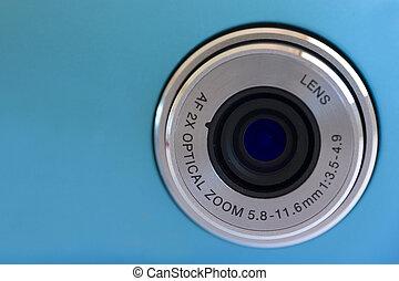 透鏡, 照像機, 數字