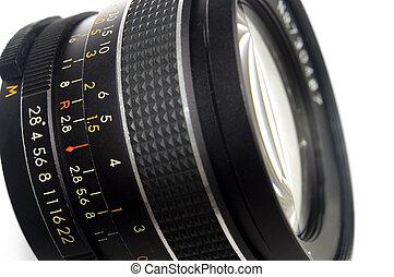 透鏡, 關閉, 攝影, 向上