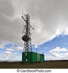 通訊, 全部, 气象站