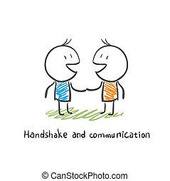通訊, 握手