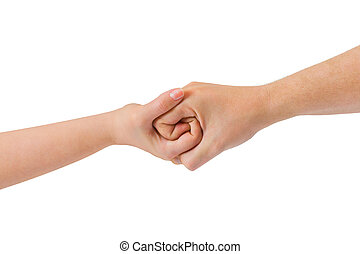 連線, 手