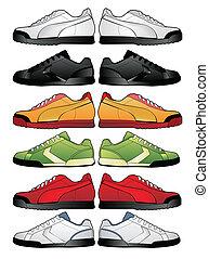 運動鞋, 插圖