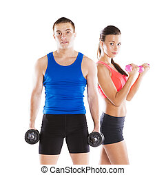運動, 婦女, 人