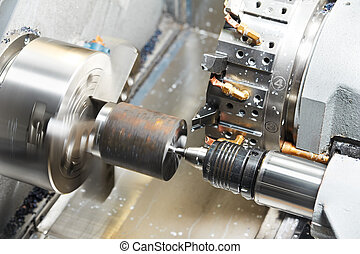過程, 机器加工, 金屬, 空白