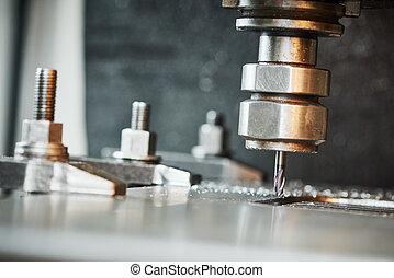 過程, 金屬加工, 操練
