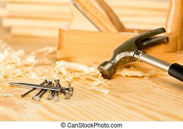 選擇, 工具, 木匠