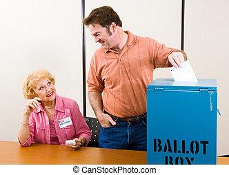 選舉, 天, 美國