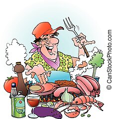 邀請, grillmaster