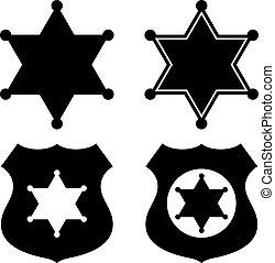 郡長, 星, 象征, 集合
