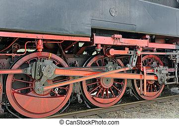 部份, 蒸汽, 機車, initimate