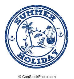 郵票, 暑假