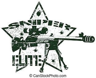 郵票, 精華, 狙擊手