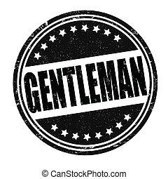 郵票, 紳士