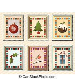 郵票, 聖誕節