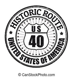 郵票, 路線, 具有歷史意義, 40