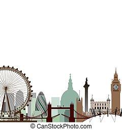 都市風景, 倫敦