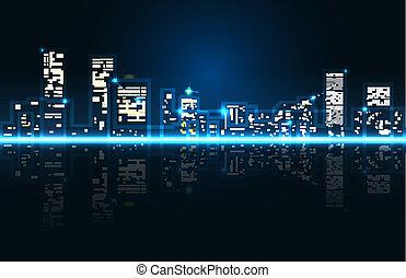 都市風景, 摘要