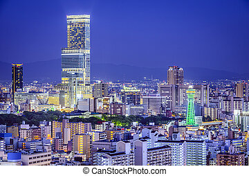 都市風景, 日本, 大阪