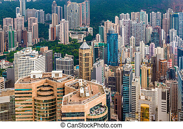 都市風景, 洪, 瓷器, kong