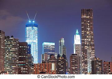 都市 地平線, 城市