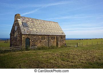 鄉村, 确定, 老教堂