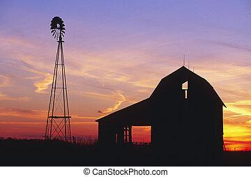 鄉村, 穀倉