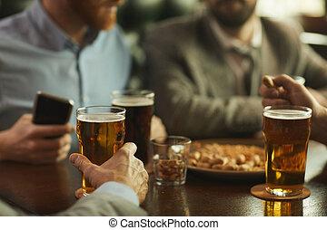 酒吧, 啤酒, 喝酒