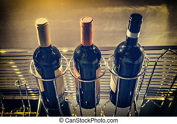 酒吧, 瓶子, 酒