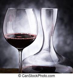 酒, 紅色, 品嘗