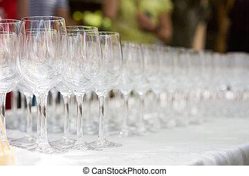 酒, tasting., 眼鏡