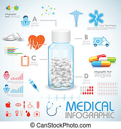 醫學, 健康護理, infographics