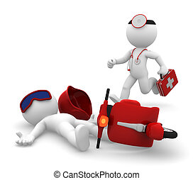 醫學, 孤立, 緊急事件, services.