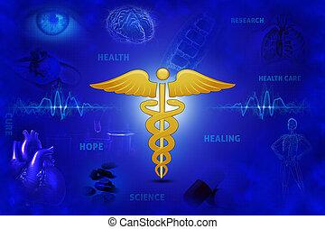醫學, 旗幟, rgb