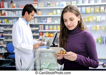 醫學, 消費者, 藥房
