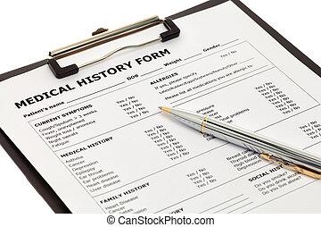 醫學, 病人, 形式, 歷史