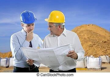 采石場, 二, 建筑師計划, 隊, 專門技能, 工程師