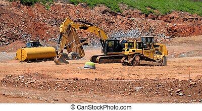 重, 建設, eqipment