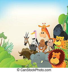 野生動物, 動物, 背景