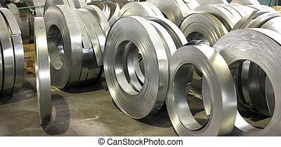 金屬板, 勞易斯勞萊斯, 錫, 生產, 大廳