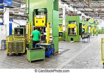 金屬, 工廠