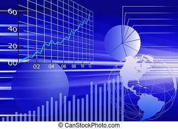 金融, 事務, 摘要, 背景, 世界, 數据