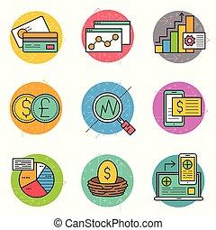 金融, 圖象, 事務, 集合