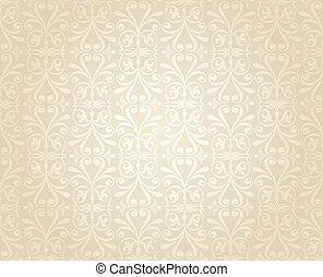 金, 婚禮, 背景, 白色, 牆紙