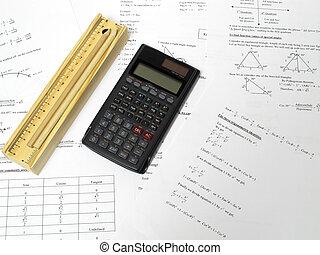 鉛筆, 計算器