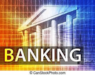 銀行業務, 插圖