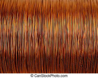 銅的電線, 背景